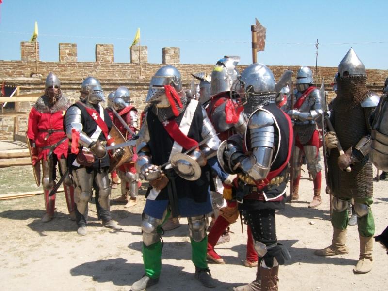 Рыцарские фестивали в крепости